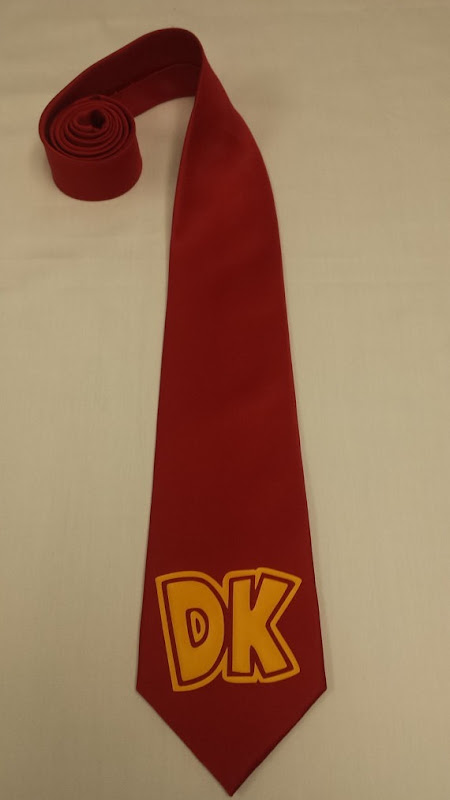 Donkey Kong Men's Necktie
