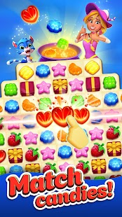 Crafty Candy – Match 3 Magic Puzzle Quest APK for Bluestacks