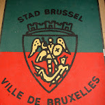 stad brussel in Brussels, Brussels, Belgium