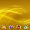 Layers Gold Xperien Theme