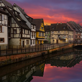 Colmar / France by Arda Erlik - Buildings & Architecture Public & Historical ( sony, reflection, fine art, arda erlik, france, architecture, city, colmar )