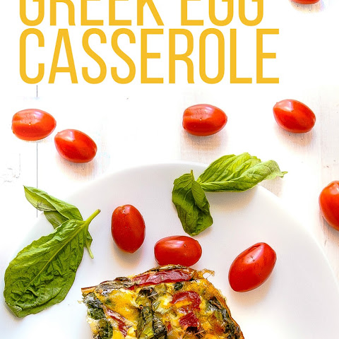 Greek Egg Casserole