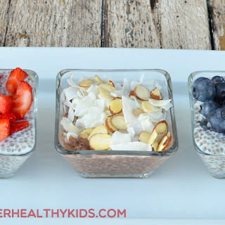Chia Seed Champion Pudding {Healthy Dessert for Kids}