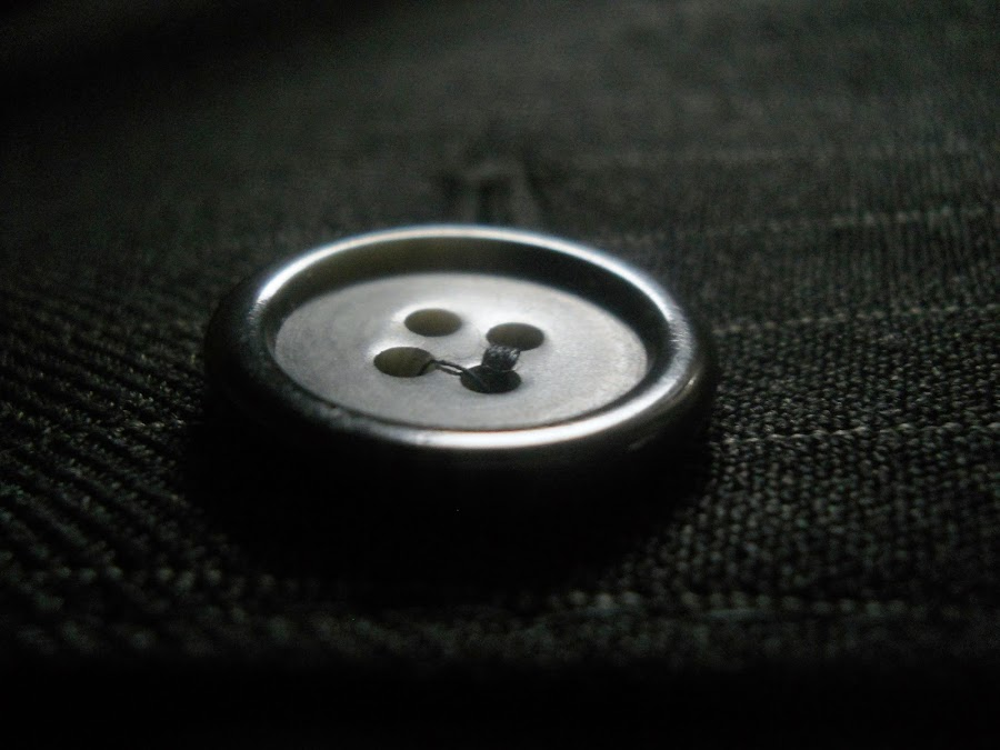 clothing by Vesna S. Disić - Artistic Objects Clothing & Accessories ( detail, macro, button, clothing, delicate, rock and roll, fin, botton )