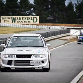 Circuit Club Track Days by Bronwyn Holmes - Sports & Fitness Motorsports ( mitsubishi lancer evo evolution track day wakefield park goulburn nsw australia )