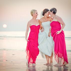 by Simon Charlton - Wedding Groups ( bridesmaids, dubai, wedding, bride )