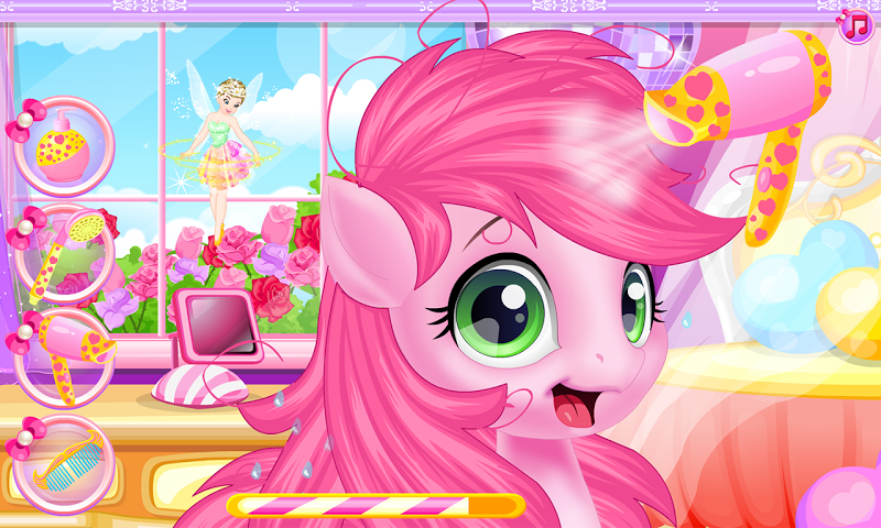 android Baby pony grooming makeover Screenshot 3