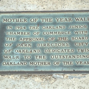 See: https://oaklandwiki.org/Oakland%27s_Mother_of_the_Year_Award