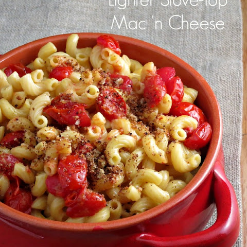 Lighter Stove-top Mac and Cheese