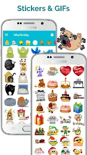 WhatSmiley - Smileys & emoticons Screenshot