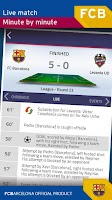 Screenshot of FC Barcelona Official App