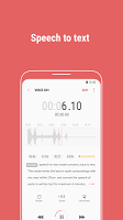screenshot of Samsung Voice Recorder