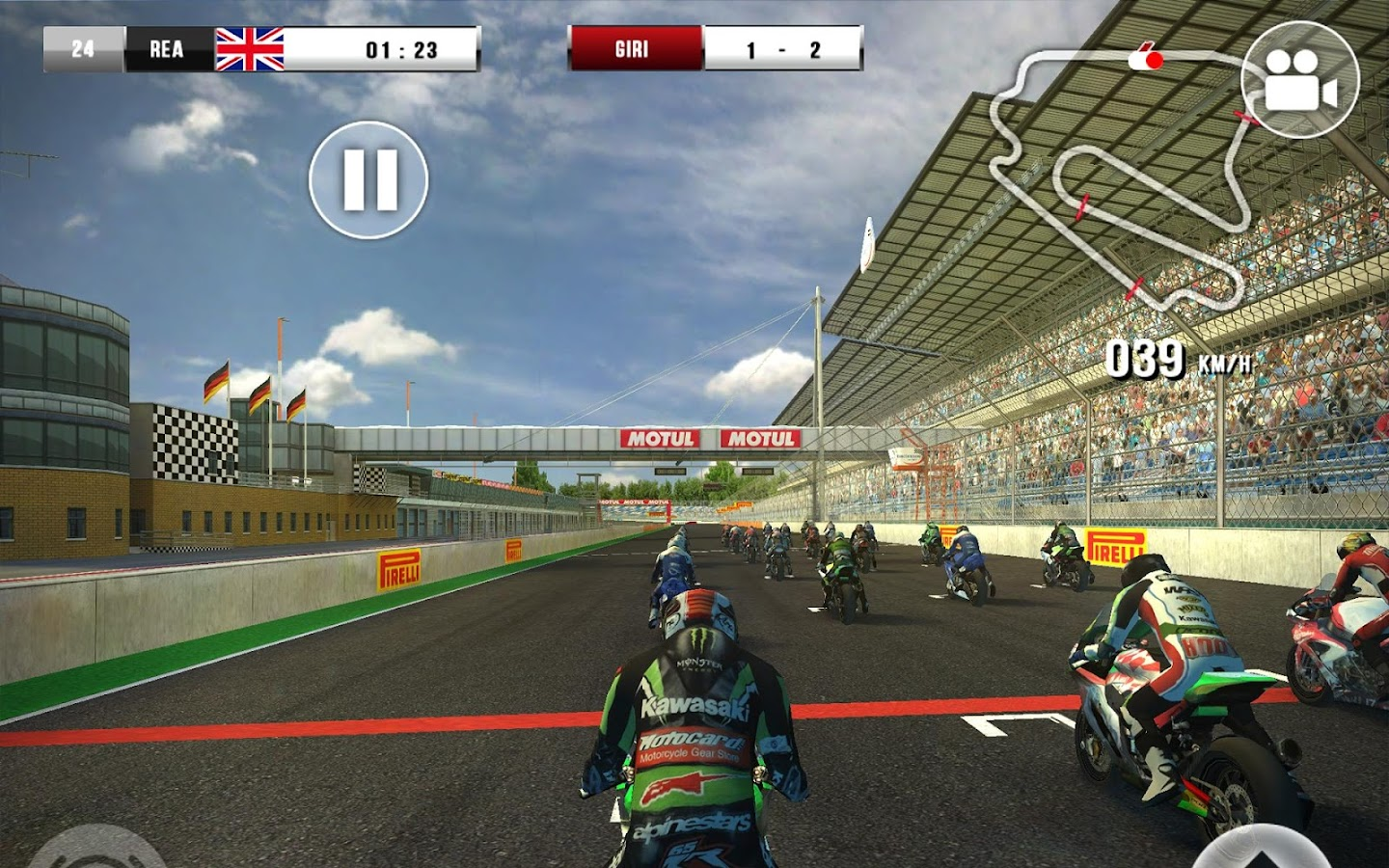 SBK16 Official Mobile Game Screenshot 6