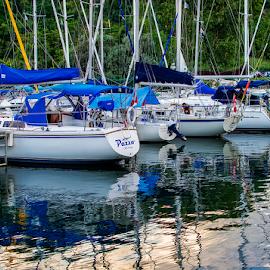 boats by Lennie Locken - Transportation Boats