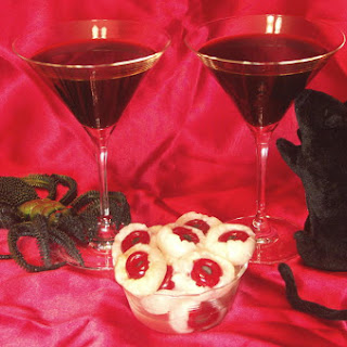 Black Martinis with Devil's Eyeballs – Welcome To The #GreatHallowTweet!