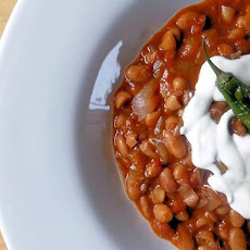 Slow Cooked Pinto Beans