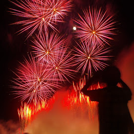 by Indra Fardhani - Abstract Fire & Fireworks