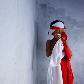 i love indonesia by Bhako N Bhako - Babies & Children Child Portraits
