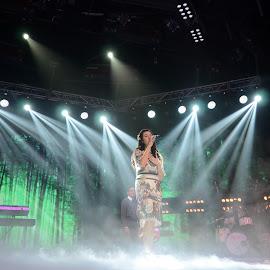 Raisa , The Female Indonesian Singer by M Reza Saptodi - People Musicians & Entertainers