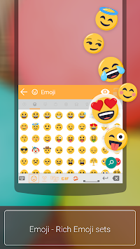 Ai.type Free Emoji Keyboard APK screenshot thumbnail 1