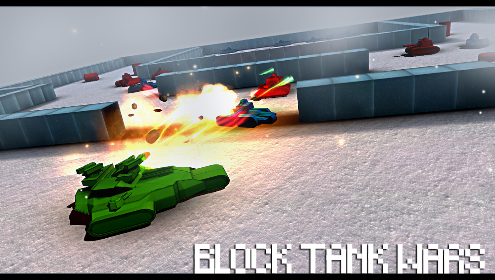 Block Tank Wars Screenshot 1