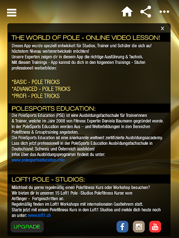 android Polesports Education Screenshot 4