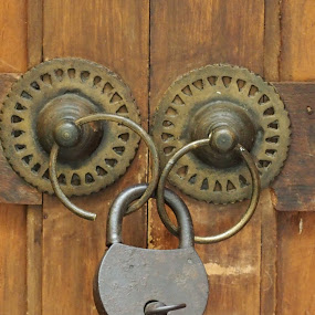 Lock#1 by Edwin Pfim - Artistic Objects Antiques