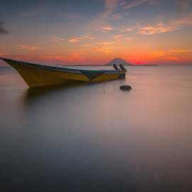 fishing boat by UbayDilah syahrin Baba - Landscapes Waterscapes