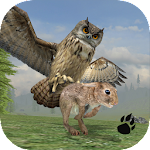 Horned Owl Simulator Icon