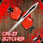 Crazy Ninja Butcher-Meat Slice Icon