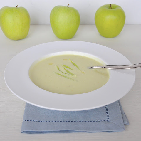 Vichyssoise (Leek and potato soup)