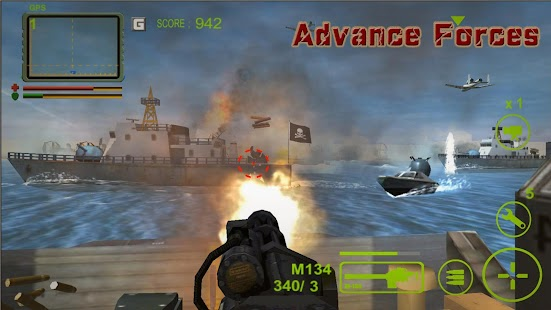 Advance Forces(AU) - screenshot