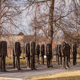 Headless Sculptures by Teresa Husman - Buildings & Architecture Statues & Monuments ( bronze, sculpture, kansas city, statues, nelson )