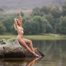 Bathed in lIght by John McNairn - Nudes & Boudoir Artistic Nude ( colour, scotland, model, nude, location )