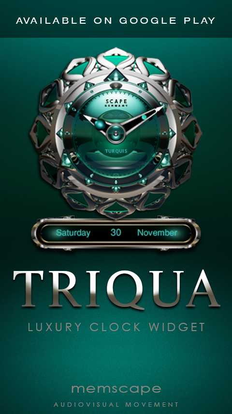 TRIQUA Next Launcher 3D Theme Screenshot 4