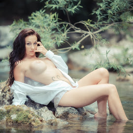 Sandra by Patrice Champey - Nudes & Boudoir Artistic Nude