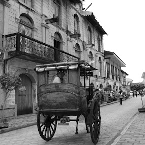 vigan heritage by Diofel Dagandan - City,  Street & Park  Historic Districts ( pwcbuilding-dq )