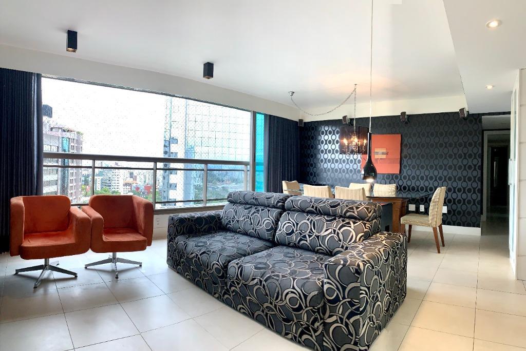Apartamento mobiliado de 3 dormitórios transformado em 2, sendo 1 ampla suíte com closet e 2 vagas de garagem cobertas Três Figueiras