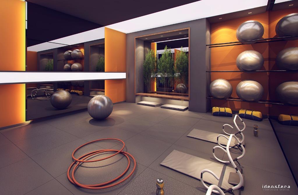 Perspectiva da Sala de Pilates