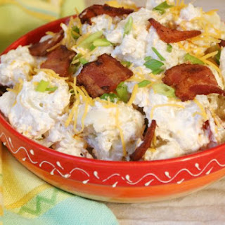 Cauliflower Salad With Bacon And Cheese Recipes