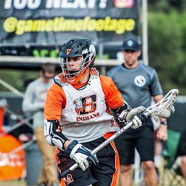 focus to the goal by Kevin Mummau - Sports & Fitness Lacrosse ( action, focus, win, add, goal, lacrosse )
