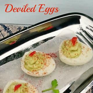 Avocado Deviled Eggs Recipes