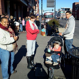 Cold day in Nashville! by Terry Linton - People Street & Candids