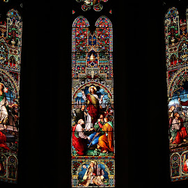 Stained Glass, London, Ontario, Canada by Carl VanderWouden - Artistic Objects Other Objects