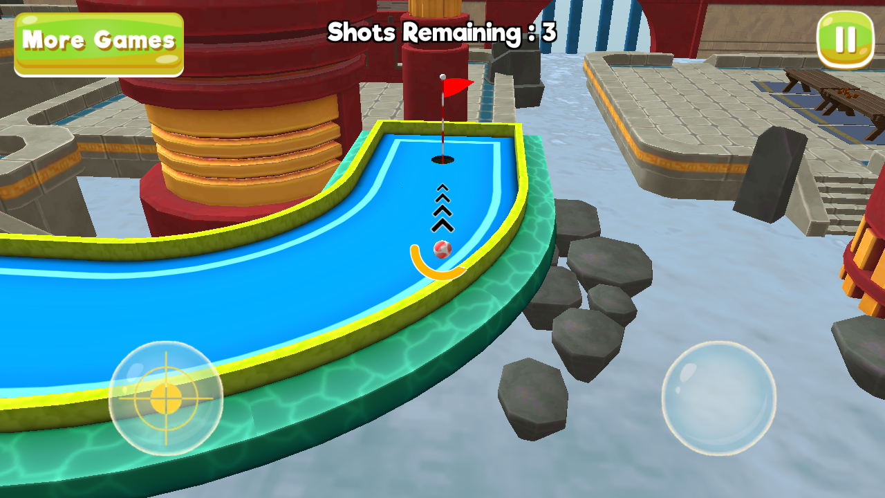 Mini Golf 3D City Stars Arcade Screenshot 4