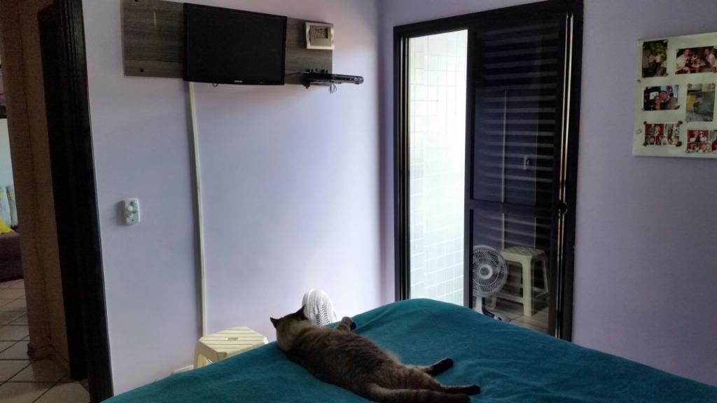 Apto 1 Dorm, Encruzilhada, Santos (AP4078) - Foto 13
