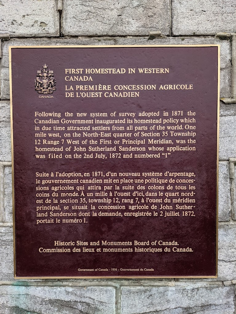 First Homestead in Western CanadaFollowing the new system of survey adopted in 1871 the Canadian Government inaugurated its homestead policy which in due time attracted settlers from all parts of the ...