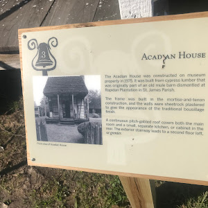 The Acadian House was constructed on museum property in 1975. It was built from cypress lumber that was originally part of an old mule barn dismantled at Rapidan Plantation in St. James Parish. The ...