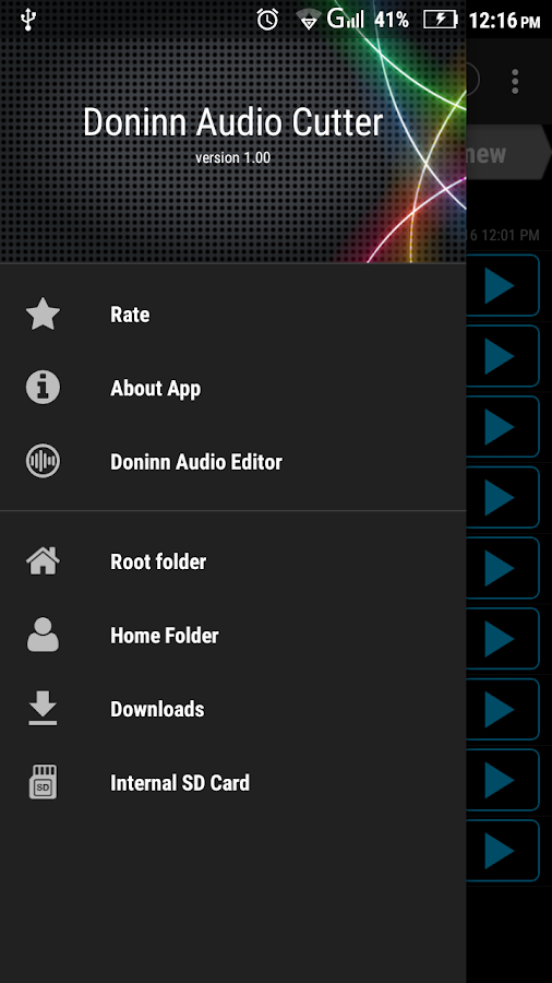 Doninn Audio Cutter Free Screenshot 1