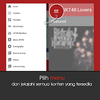 Screenshot of JKT48 Lovers